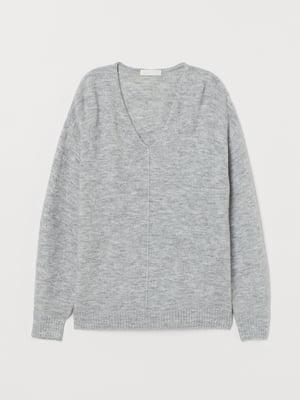 Пуловер світло-сірий | 5680308