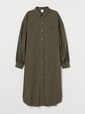 Сукня кольору хакі | 5680576