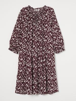 Платье абстрактной расцветки   5680585