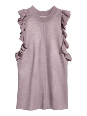 Блуза лилового цвета   5680669