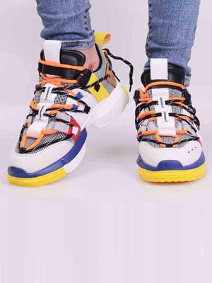 Кросівки комбінованого кольору | 5642691