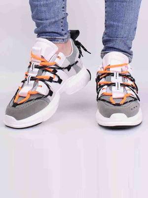 Кроссовки комбинированного цвета | 5642700