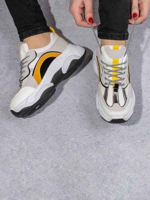 Кросівки комбінованого кольору | 5642882