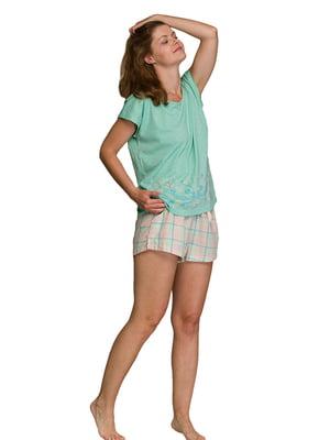 Піжама: футболка і шорти | 5687879