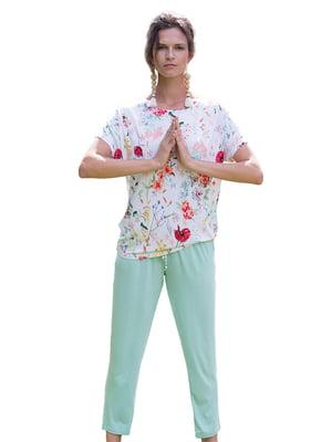Пижама: футболка и брюки | 5687880