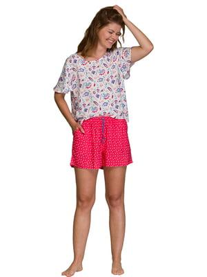 Пижама: футболка и шорты | 5687881