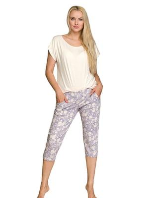 Пижама: футболка и брюки | 5687882