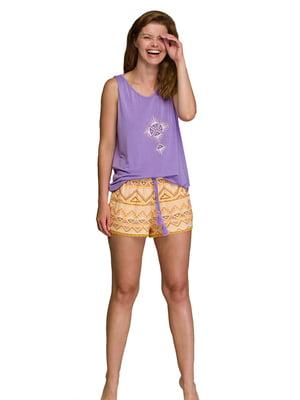 Пижама: майка и шорты   5687883