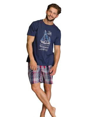 Пижама: футболка и шорты | 5687885