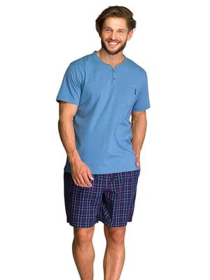 Пижама: футболка и шорты | 5687886