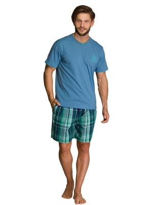 Пижама: футболка и шорты | 5687887