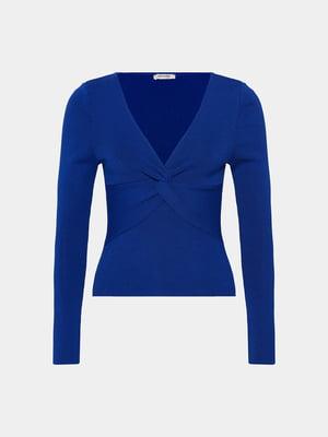 Пуловер синий | 5647215