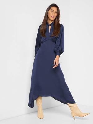 Платье синее | 5686071