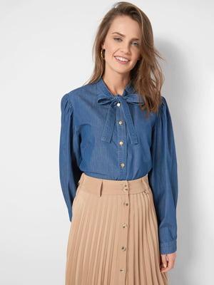 Рубашка синяя | 5686082