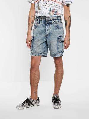Шорты джинсовые голубого цвета | 5686248
