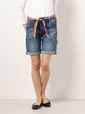 Шорты джинсовые синие   5635986
