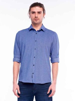 Рубашка синяя   5686966