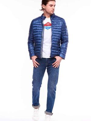 Куртка синяя   5686985