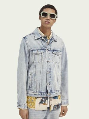 Куртка джинсовая светло-синяя   5687472