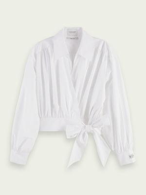 Блуза-рубашка белая | 5687512
