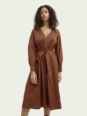 Платье карамельного цвета   5687519
