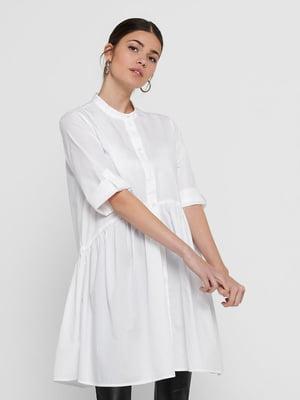 Рубашка-туника белая | 5687616