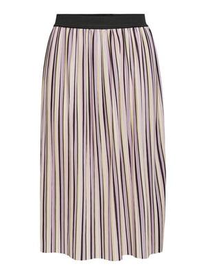 Юбка комбинированного цвета в полоску | 5687620