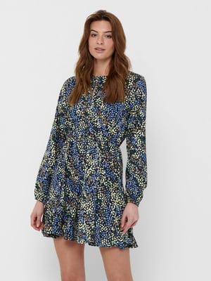 Платье в цветочный принт | 5687636