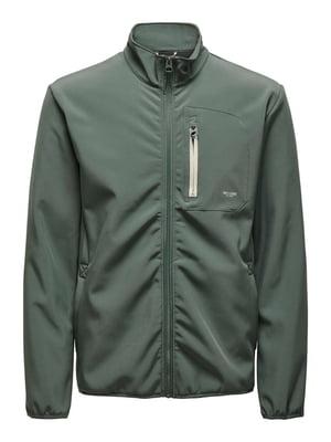 Куртка оливкового цвета | 5687687
