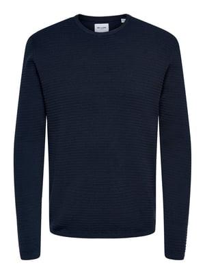 Джемпер темно-синій | 5687696