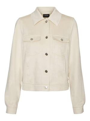 Куртка-жакет молочного цвета | 5687891