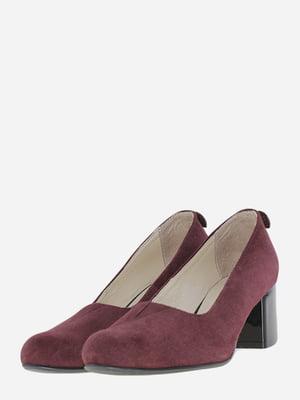 Туфлі бордові | 5688190