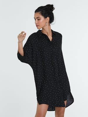 Сукня чорна в горошок | 5686551