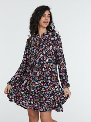 Сукня різнокольорова в принт | 5686775