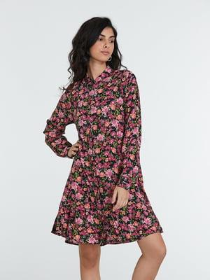 Сукня різнокольорова в принт | 5686779