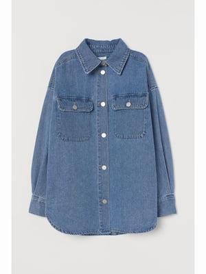 Рубашка синяя | 5688819