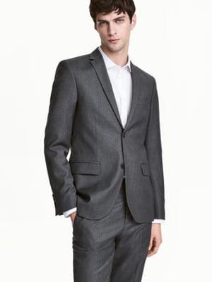 Пиджак темно-серый | 5688885