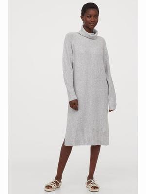 Платье светло-серое | 5688945