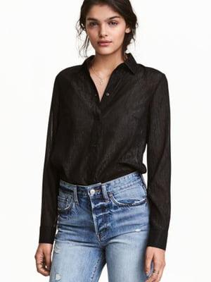 Рубашка черная | 5689004