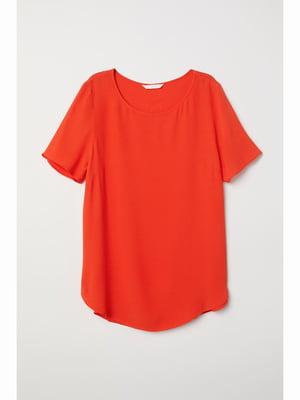 Топ оранжевого цвета | 5689007