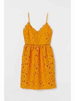 Платье желтое   5689103