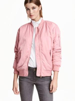 Бомбер розовый | 5689689