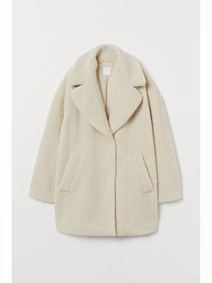 Пальто кремового цвета | 5689711