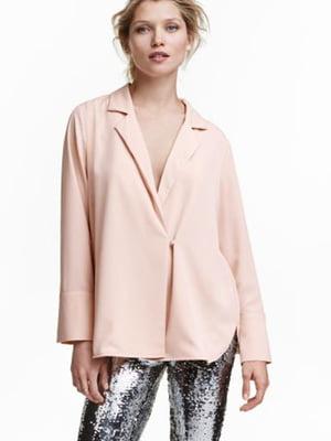 Блуза пудрового кольору   5689712