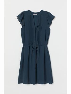 Платье синее   5689790