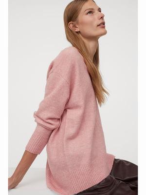 Пуловер рожевий | 5689823