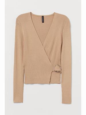 Пуловер бежевий | 5689925