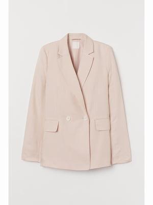 Жакет светло-розовый | 5690085