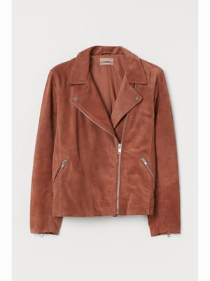 Куртка теракотового кольору | 5690094