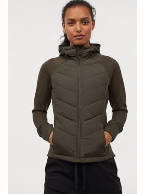 Куртка кольору хакі | 5690204